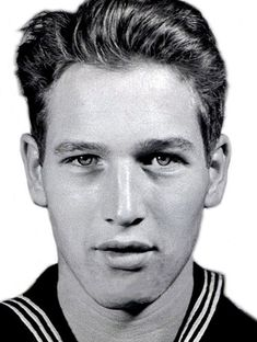 Before he became one of the biggest movie stars in Hollywood history, Paul Newman had dreams of becoming a Naval Aviator. Newman served in the United States Navy in World War II in the Pacific theater. Unable to be a pilot, because he was color blind Hollywood Stars, Old Hollywood, Classic Hollywood, Stars D'hollywood, I Love Cinema, Hommes Sexy, Robert Redford, United States Navy, Marlon Brando