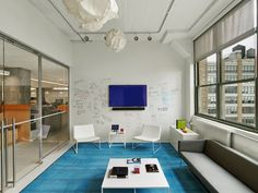 Arnold Worldwide's New Workspace - Picture gallery