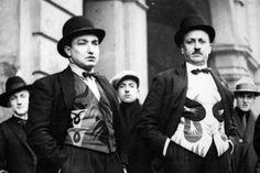 * Fortunato Depero and Filippo Tommaso Emilio Marinetti Futuristes iteliens