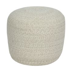 Natural Braided Ottoman | Kmart