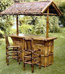 Tiki Bars   Bamboo Outdoor Home Deck, Patio Bars