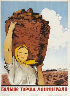 More peat to Leningrad!