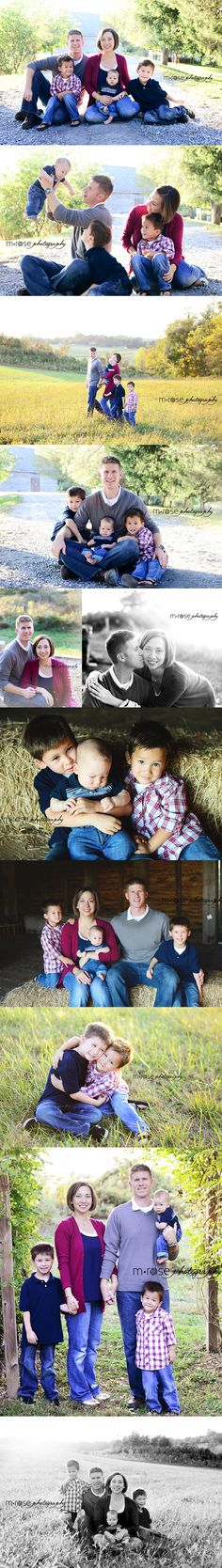 Family of 5 Photos. 3 Boys. Brothers photos | M Rose Photography
