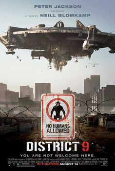 "District 9 - 2009. Produced and set in South Africa. A disabled space ship had appeared over Johannesburg years before; the crew were removed and placed in a ""ghetto"". Things change during the movie."