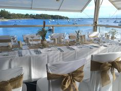 Wedding Set Up, Wedding Hire, Rustic Wedding, Ps I Love You, How To Introduce Yourself, Seafood Restaurant, Table Decorations, Furniture, Beautiful