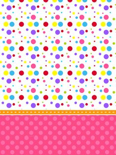 Montando minha festa: Colorido Meninas Bow Wallpaper, School Frame, Paint Cookies, Circus Party, Candy Party, Paper Beads, Candyland, Paper Background, Fractal Art