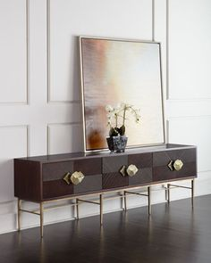 Byron Entertainment Console by Global Views at Horchow.