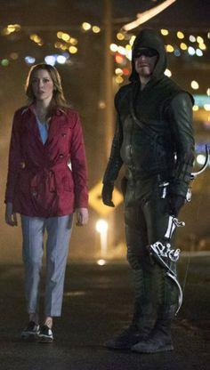 Arrow - 2x22 - Streets of fire - Laurel & Oliver