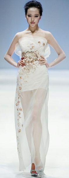 Zhang JingJing Haute Couture S/S 2013