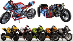 LEGO TECHNIC MOTORCYCLES: MOD's & Thoughts - The 42036 Street Motorcycle - Discussion Topic