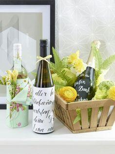 Über eine gute Flasche Wein freut sich jeder, wenn sie dann noch toll ...