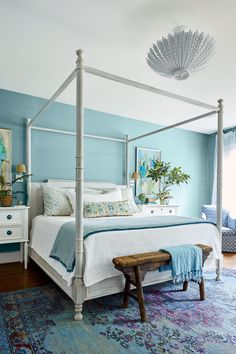Gathered :: Wilmington, NC Lindsey and Grayson Cheek's 1928 Colonial home renovation. Lindsey is the Owner and Principal Designer of Gathered, a full-service interior design firm + curated boutique in Wilmington, NC. Home Decor Bedroom, Decor, Home, Home Bedroom, Discount Bedroom Furniture, Furniture, Beautiful Bedrooms, Bedroom Furniture, Colonial House