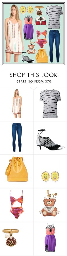 """Running new Fashion"" by cate-jennifer ❤ liked on Polyvore featuring Joie, Zoe Karssen, Nobody Denim, J.W. Anderson, Bijoux de Famille, Lygia & Nanny, Moschino, Marc Jacobs, Alexander Wang and Gucci"