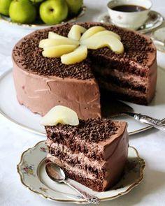 Chocolate Cake, Tiramisu, Sweet Tooth, Food And Drink, Baking, Goodies, Ethnic Recipes, Desserts, Cakes