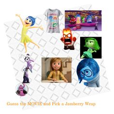 Jamberry nail wrap  Jamberry game  Facebook Game  Guess the Movie  Pick a Jamberry Wrap for the movie  Pick a Jam for the movie  INSIDE OUT