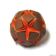 1211 Best Origami Kusudama Balls Spheres Images On Pinterest