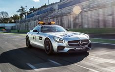 Download wallpapers Mercedes-AMG GT S, 2017, C190, safety car, Formula 1, sports coupe, Mercedes