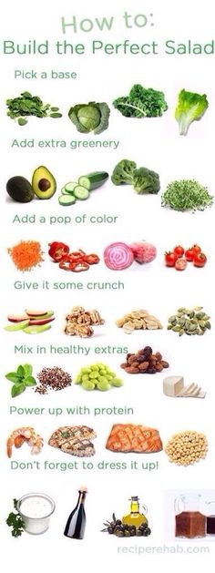How to make the perfect salad ☺️