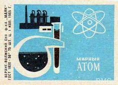Image result for atomic age matchbook art