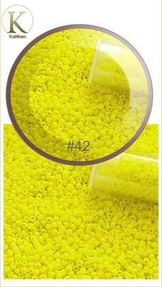 #YellowBeads #TohoSeedBeads #SeedBeads #BeadsDandelion #JapaneseSeedBeads #Beading #BeadingSupply #CraftSupply AU$0.34 per gram. Opaque Round Toho Seed Beads Size 11/0 - Japanese Seed Beads are the finest in the world. These Far Eastern manufacturers have a well-deserved reputation for achieving greater uniformity and consistency of size, shape and finish. Visit our jewellery supply section @ kalitheo.com.au for our range of findings and beads.