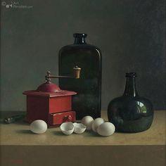 Rode molen en eieren artHenk Helmantel