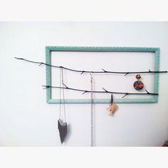 Frame & branches - jewelry display