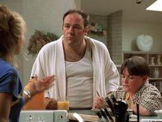 Still of James Gandolfini and Robert Iler in Los Soprano Best Tv Series Ever, Best Tv Shows, Lorraine Bracco, Tony Soprano, Al Capone, Rite Of Passage, Mini Trucks, Hallmark Christmas, Tv Episodes