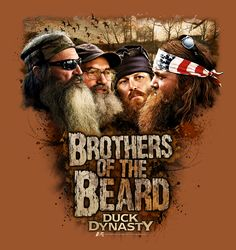 Ducky Dynasty Duck Commander Robertson Brothers of the Beard