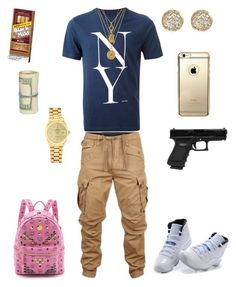 """-Coolin-"" by leonar-287 ❤ liked on Polyvore featuring Saturdays, G-Star Raw, Retrò, Juicy Couture, Rolex, Jamie Wolf, MCM, men's fashion and menswear"