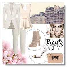 """""""Beauty takes the city"""" by maryann-bunt-deile on Polyvore featuring Nili Lotan, Gianvito Rossi, Joie, Jane Norman, Alexander McQueen and Vivienne Westwood"""