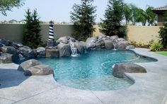 24 Unique Pool Designs With Personality: www.homeepiphany.com