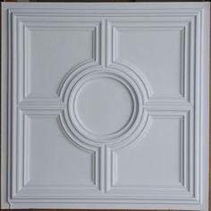 Faux finishes embossed ceiling tiles by Fauxpaintceilingtile Pop Design For Roof, Interior Ceiling Design, Faux Tin Ceiling Tiles, Classic Ceiling, Pub Decor, Ceiling Treatments, Faux Painting, Ceiling Panels, White Paneling