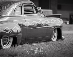 Old Flame, Lead Sled, Automotive Photography, Kustom, Black And White Photography, Hot Rods, Cool Cars, Old School, Classic Cars