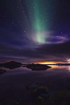 lake sky landscape upload night stars northern lights clouds milky way iceland aurora borealis vertical