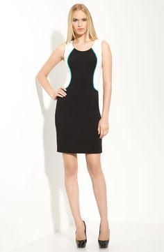 Love Jay Godfrey's modern take on a simple cut dress.  What's even more exciting...on sale too at Nordies!