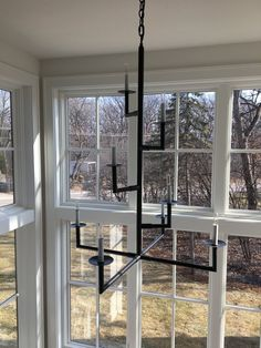 Modern Branch #transitionalchandelier #verticalchandelier #verticallighting #customlighting #stairwell #handcrafted High Ceiling, Transitional Chandeliers, Stairway Gallery Wall, Vertical Design, Stairway Gallery, Modern Farmhouse, Modern, Custom Lighting, Traditional House
