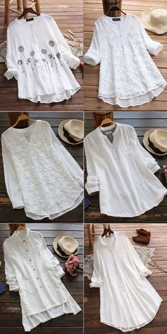 Find Plus Size Fashion and Vintage Tops,Shirts,Blouse,and T shirt… 2019 – Sommerkleider Trend 2019 Fashion Sale, Trendy Fashion, Plus Size Fashion, Boho Fashion, Fashion Dresses, Style Fashion, Women's Casual Dresses, Vintage Fashion, Jeans Fashion