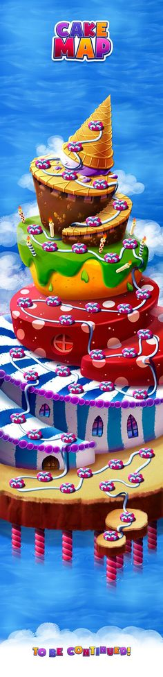 CAKE MAP on Behance: