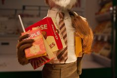 behinds the scenes of Fantastic Mr. Fox