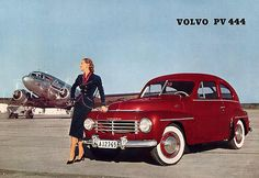 Volvo The Winning and Losing of Volvo's Swede Spot - Shannons Club Pretty Cars, Volvo Cars, Vintage Bicycles, Car Girls, Vintage Ads, Vintage Stuff, Classic Cars, Classic Auto, 1940s