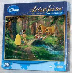 Disney Artist Series James Coleman, 1000 Piece PUZZLE by MEGA PUZZLES, http://www.amazon.com/dp/B008I9HEOK/ref=cm_sw_r_pi_dp_YGYusb1YZCBZM