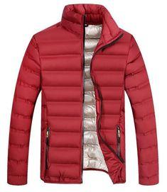 4c96e62c173 UNCO BOROR spring autumn men`s light cotton padded parka coat winter jacket  menliligla