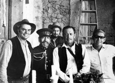 Ernest Borgnine, Emilio Fernández, Ben Johnson, William Holden, Sam Peckinpah - The Wild Bunch (1969)