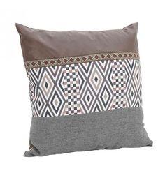 ΜΑΞΙΛΑΡΙ ΥΦΑΣΜΑΤΙΝΟ ΚΑΦΕ-ΓΚΡΙ 45Χ45 Pillow Fabric, Industrial Style, Pillow Covers, Cushions, Throw Pillows, Traditional, Bed, Collection, Home