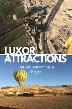 Hot Air Ballooning over Ancient Thebes and Luxor   #luxor #Egypt Egypt Travel, Africa Travel, Morocco Travel, Africa Destinations, Travel Destinations, Egypt Culture, Air Balloon Rides, Visit Egypt, Luxor Egypt
