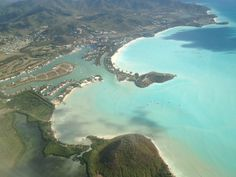St Kitts.  Didn't get to stay, only dropping off, twice, just before Christmas.