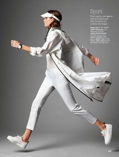 visual optimism; fashion editorials, shows, campaigns & more!: how to get white right: frederikke winther by chris craymer for uk glamour may 2014