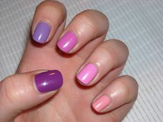 Candy For The Betches: [NOTD] Ombre Nails