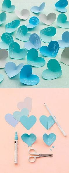 hm - Decoration World Diy Paper, Paper Art, Paper Crafts, Diy And Crafts, Crafts For Kids, Arts And Crafts, Diy Origami, Valentines Day Decorations, Diy Art