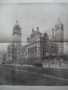 Imperial Institute , South Kensington, England, UK, 1893, T.E. Collcutt